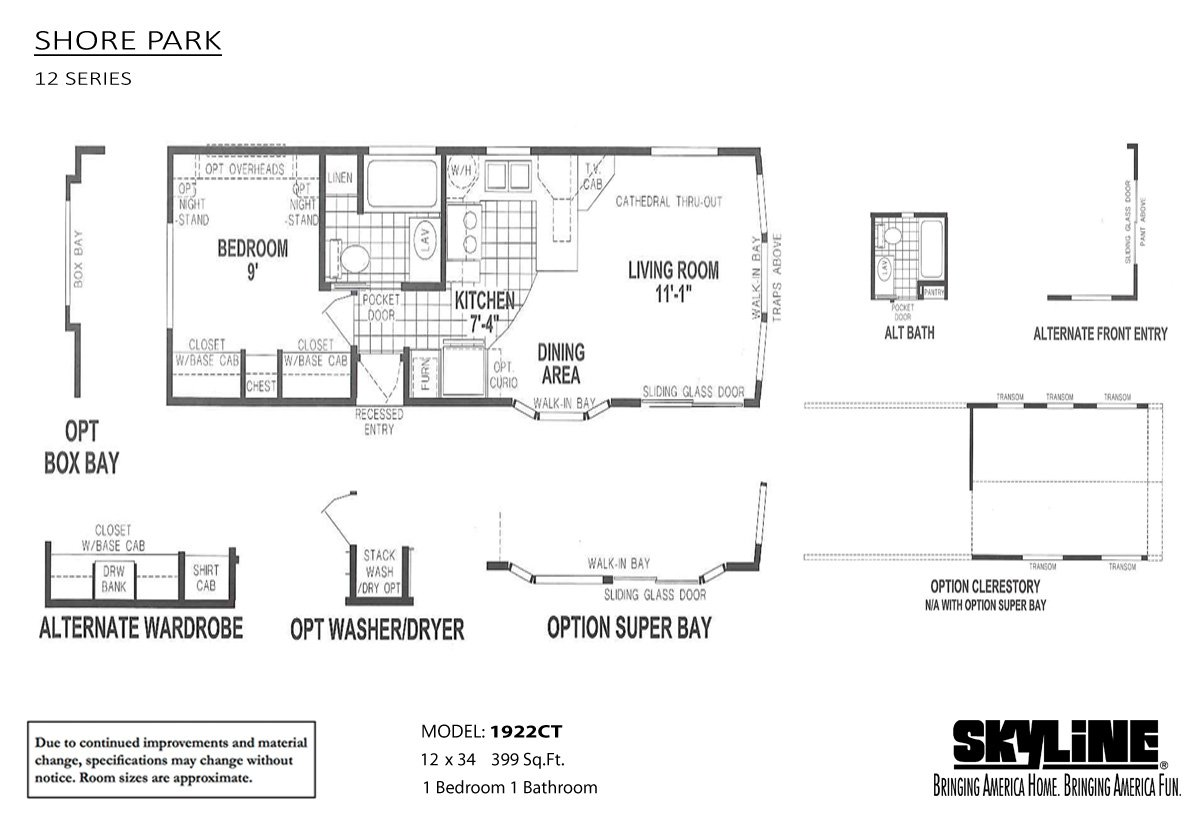 Shore park 1922ct by skyline homes for Shore house plans