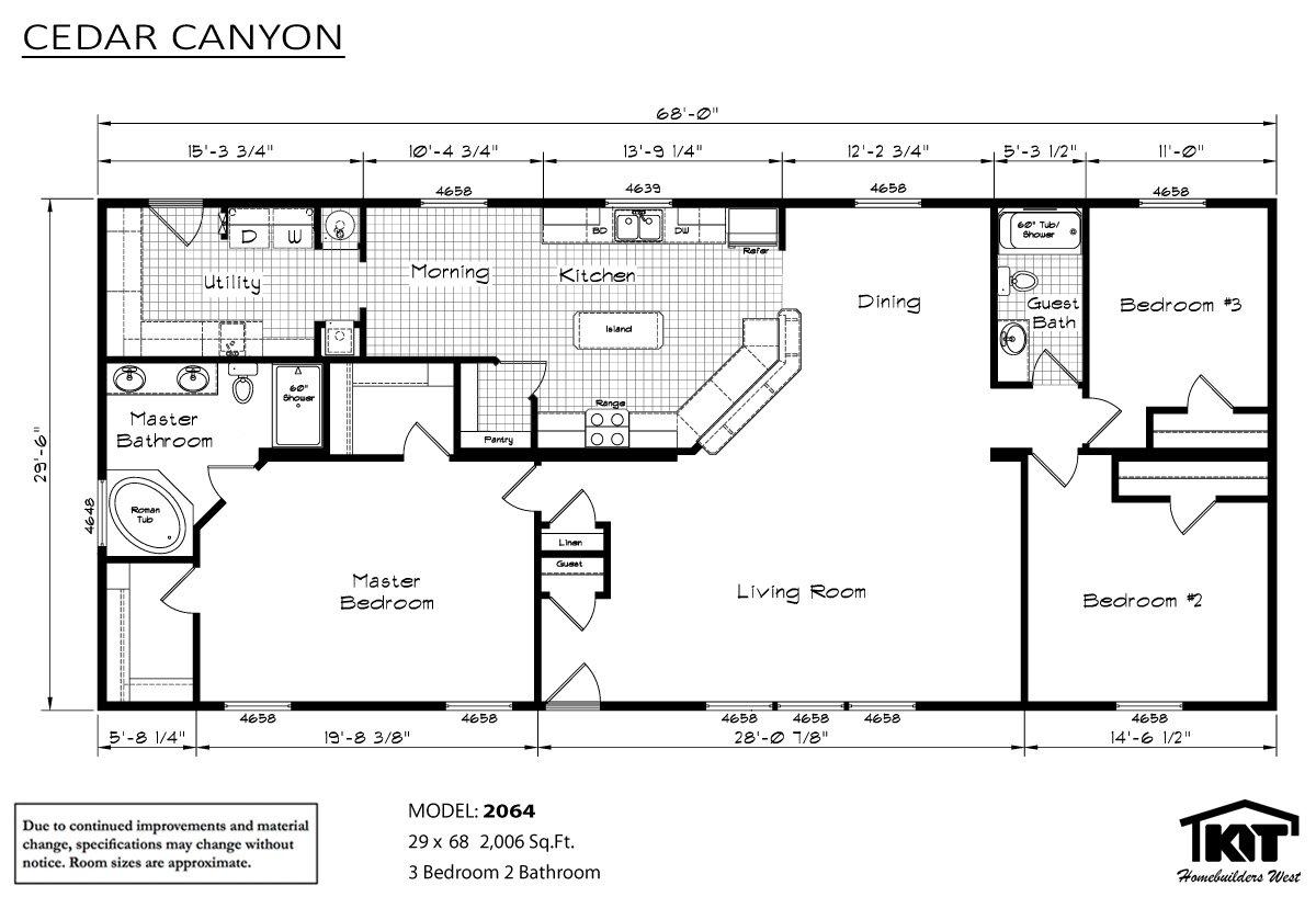 Stout homes inc lewiston id for Cedar homes floor plans