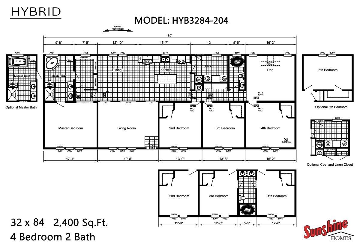 Hybrid HYB3284-204 Layout