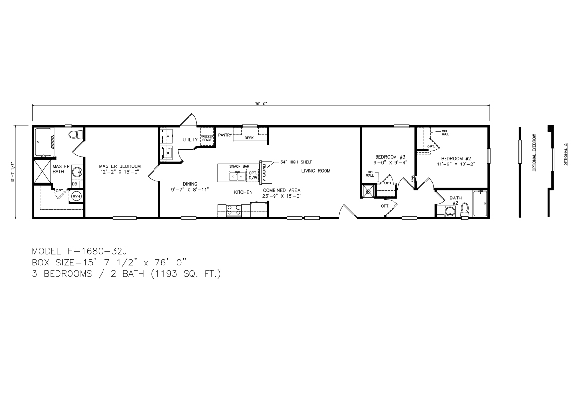Single Wide Homes - Texas Built Mobile Homes - Single Wides ...