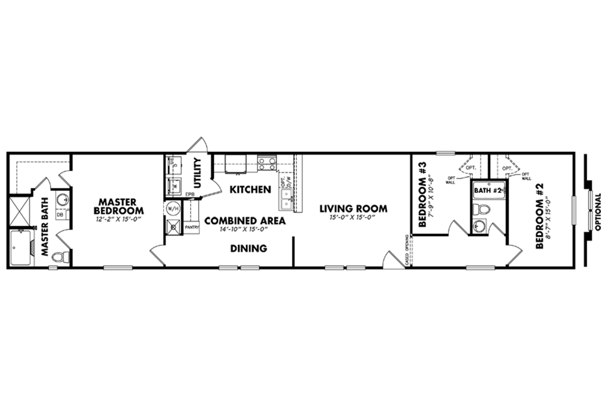 Anderson road homes in oklahoma city ok manufactured for Floor plans oklahoma