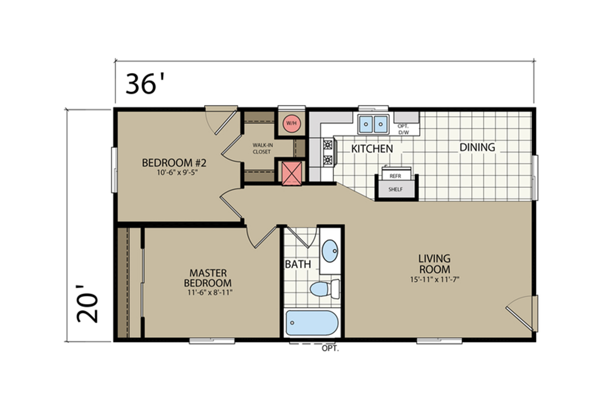 Summit sm 20 3620 by silvercrest for Summit homes floor plans
