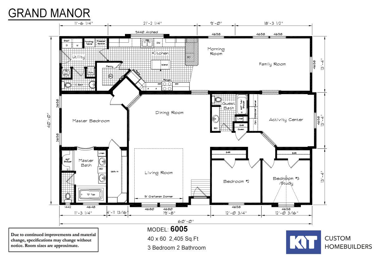 Floor Plan Detail - Gillespie Homes