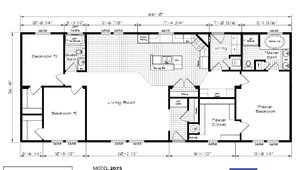 Floor Plan Detail Gillespie Homes