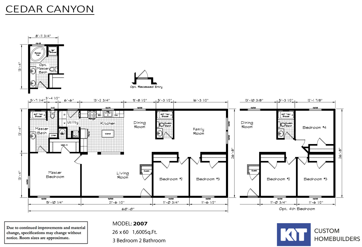 Cedar Canyon / 2007 - Layout