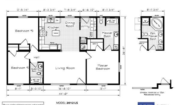 floor plan detail - craftsman homes