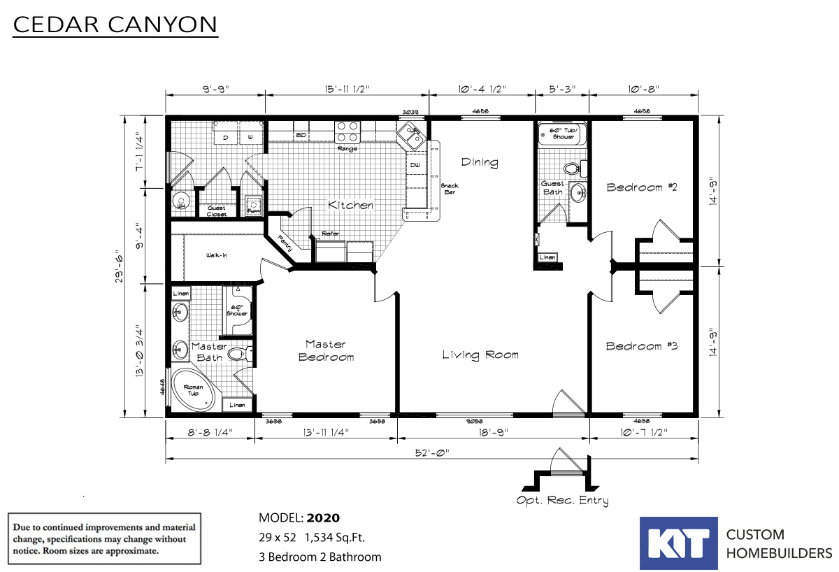 Cedar Canyon / 2020 - Layout