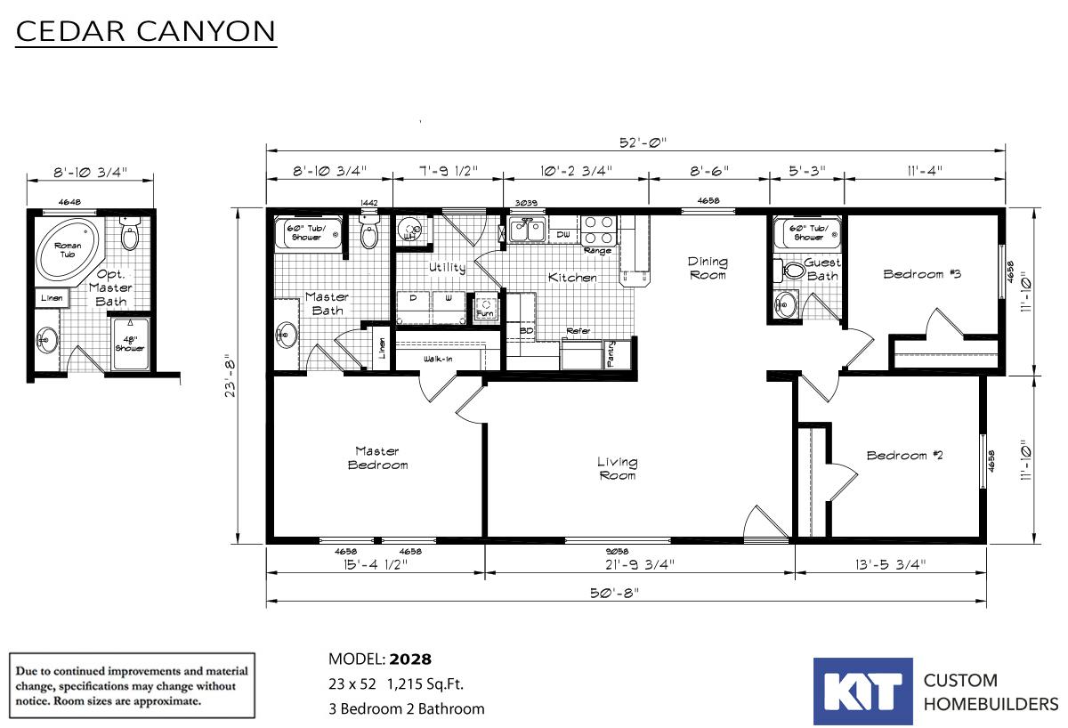 Cedar Canyon 2028 By Detray S Custom Housing