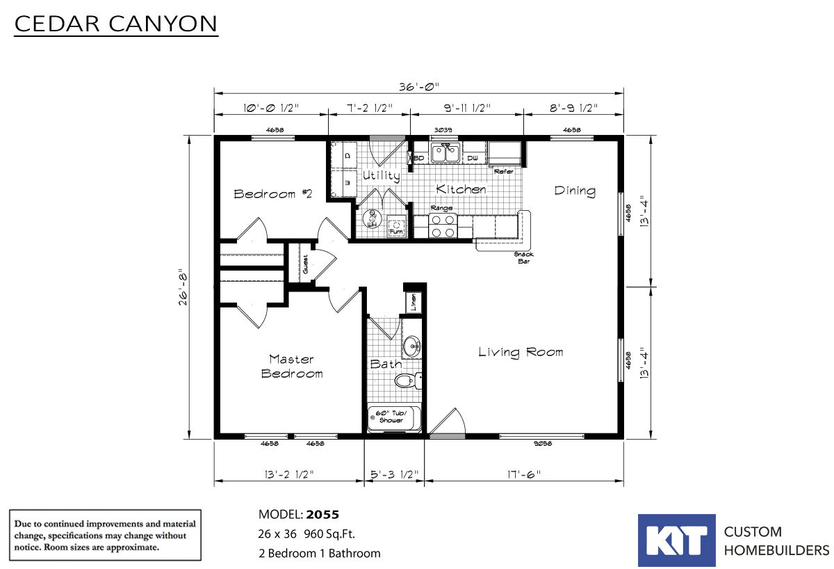 Cedar Canyon 2055 By Kit Custom Homebuilders