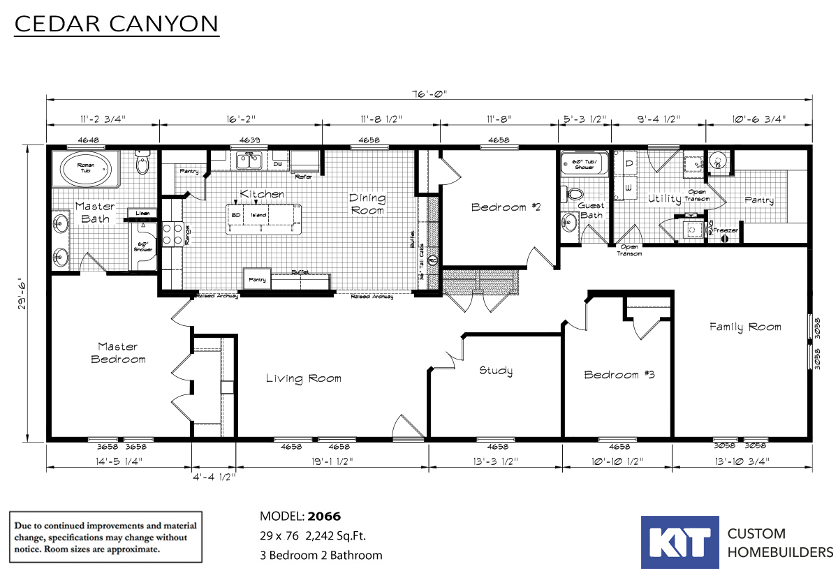 Cedar Canyon 2066 Layout