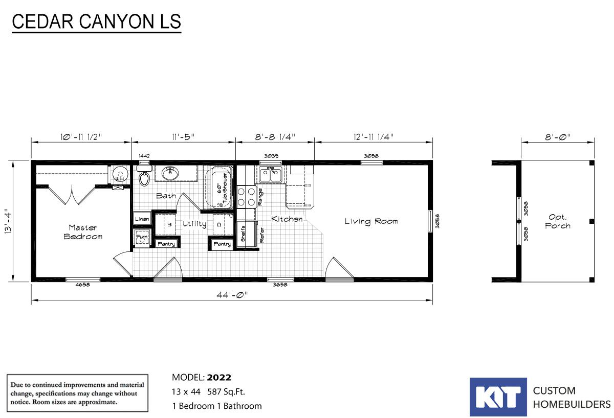 Cedar Canyon LS 2022 Layout