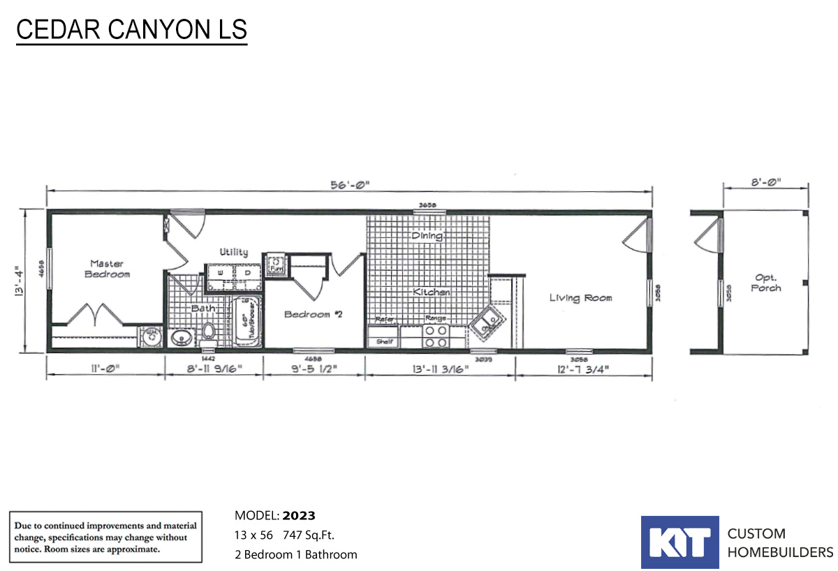 Cedar Canyon LS 2023 Layout