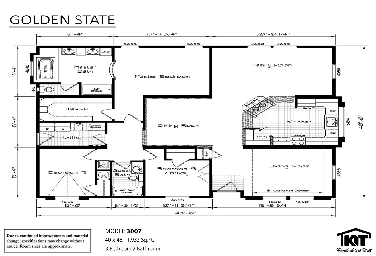 Manufactured home floor plans washington state for House plans washington state