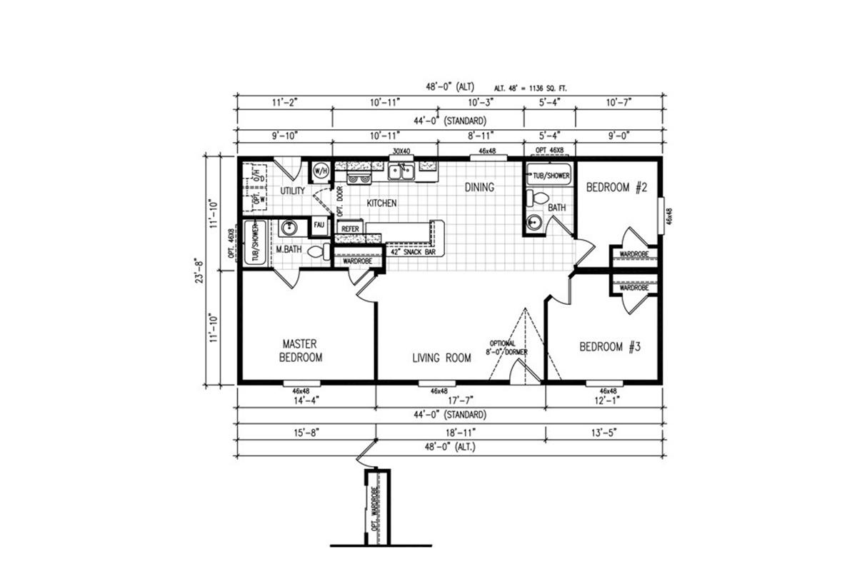 Rockport C24443A Layout