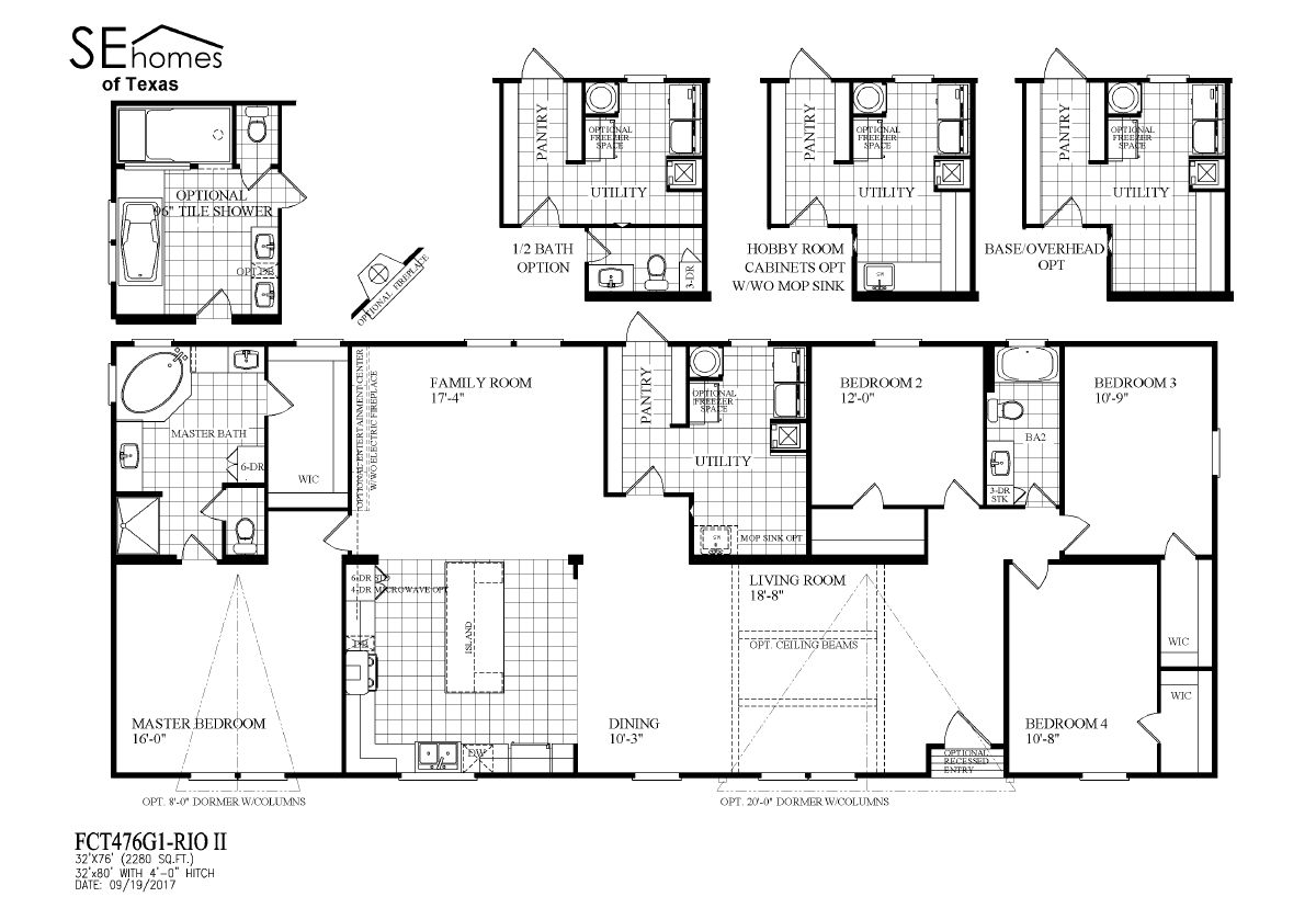 showing 1 12 of 44 floor plans - Clayton Homes Floor Plans 3 Bedrooms 28 Quot Width 44length
