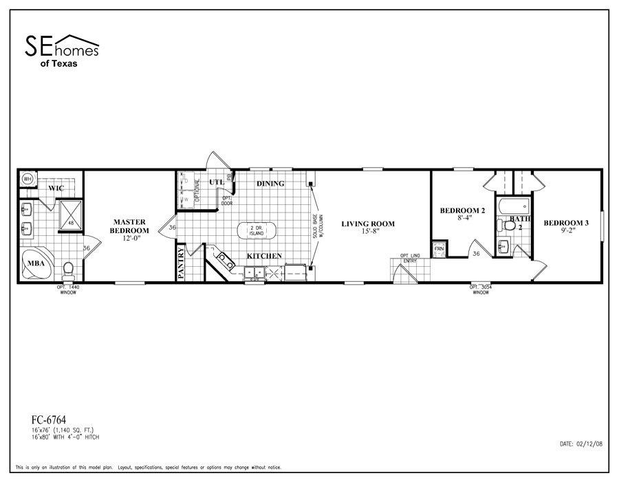 Energizersingle fc 6764 nueces by southern energy homes for Southern energy homes floor plans