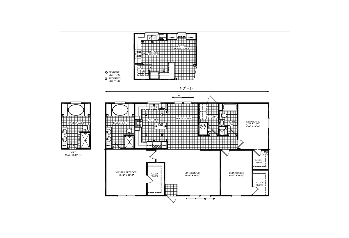 Floor Plan Detail - Bourgeois Homes