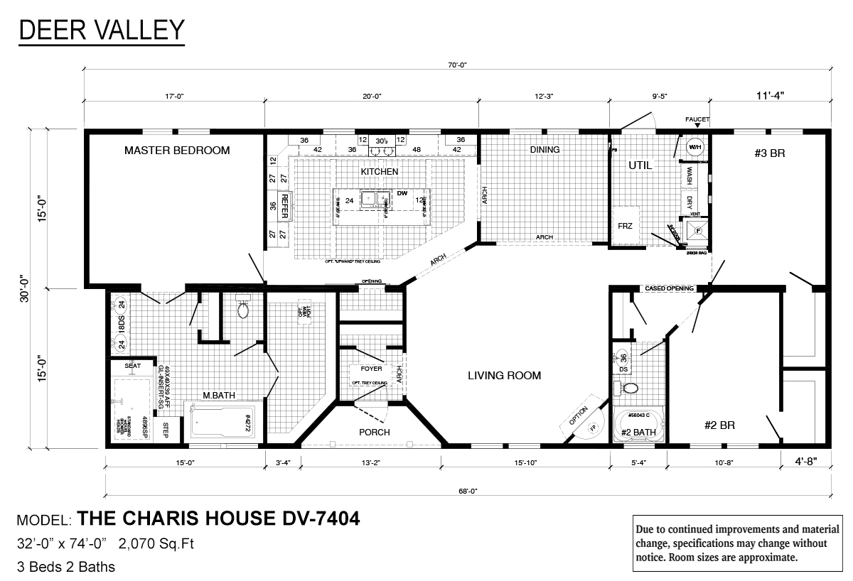 Deer Valley Series Charis House DV-7404