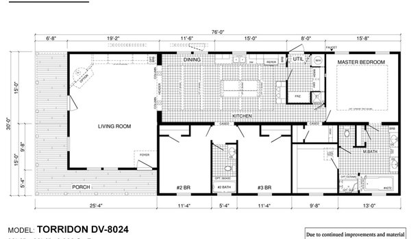 Deer Valley Series / Torridon DV-8024 - Layout
