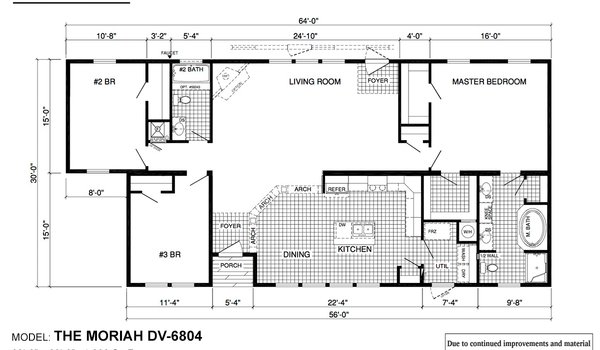 Deer Valley Series / Moriah DV-6804 - Layout