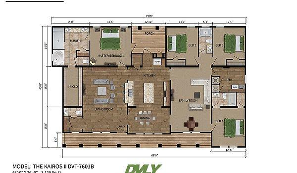 Deer Valley Series / Kairos II DVT-7601B - Layout