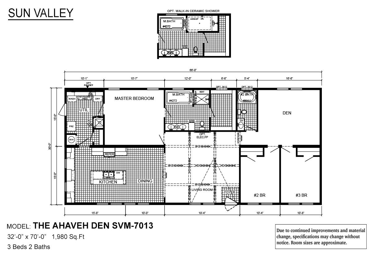 Sun Valley Series Ahaveh Den SVM-7013