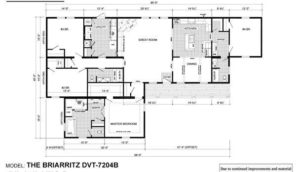 Deer Valley Series / Briarritz DVT-7204B - Layout
