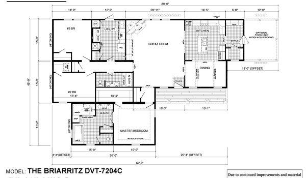 Deer Valley Series / Briarritz DVT-7204C - Layout