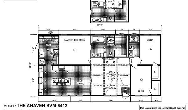 Sun Valley Series / Ahaveh SVM-6412 - Layout