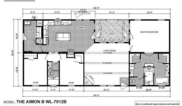 Woodland Series / Aimon B WL-7012B - Layout