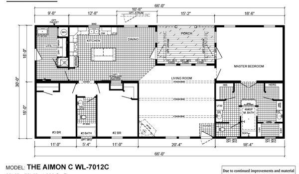 Woodland Series / Aimon C WL-7012C - Layout