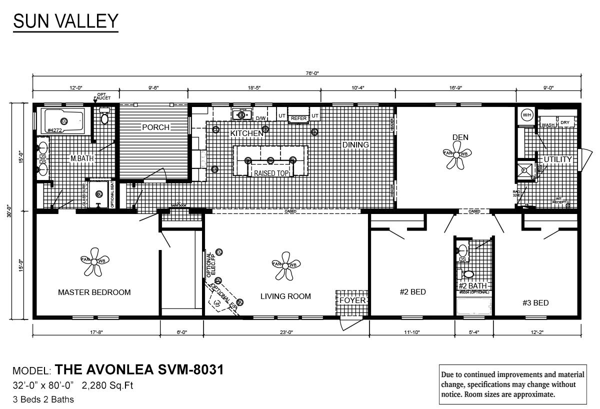 Sun Valley Series The Avonlea SVM-8031