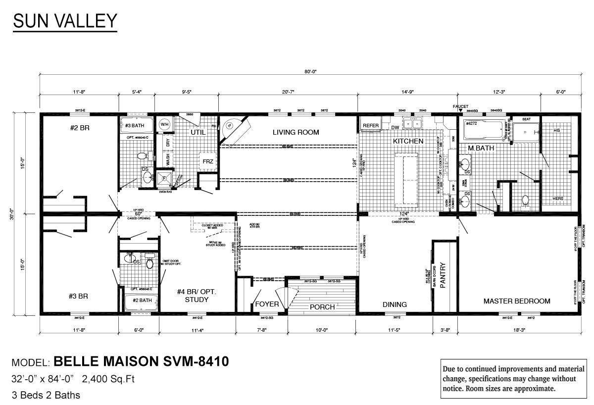 Sun Valley Series - Belle Maison SVM-8410