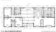 Sun Valley Series Belle Maison SVM-8410 Layout