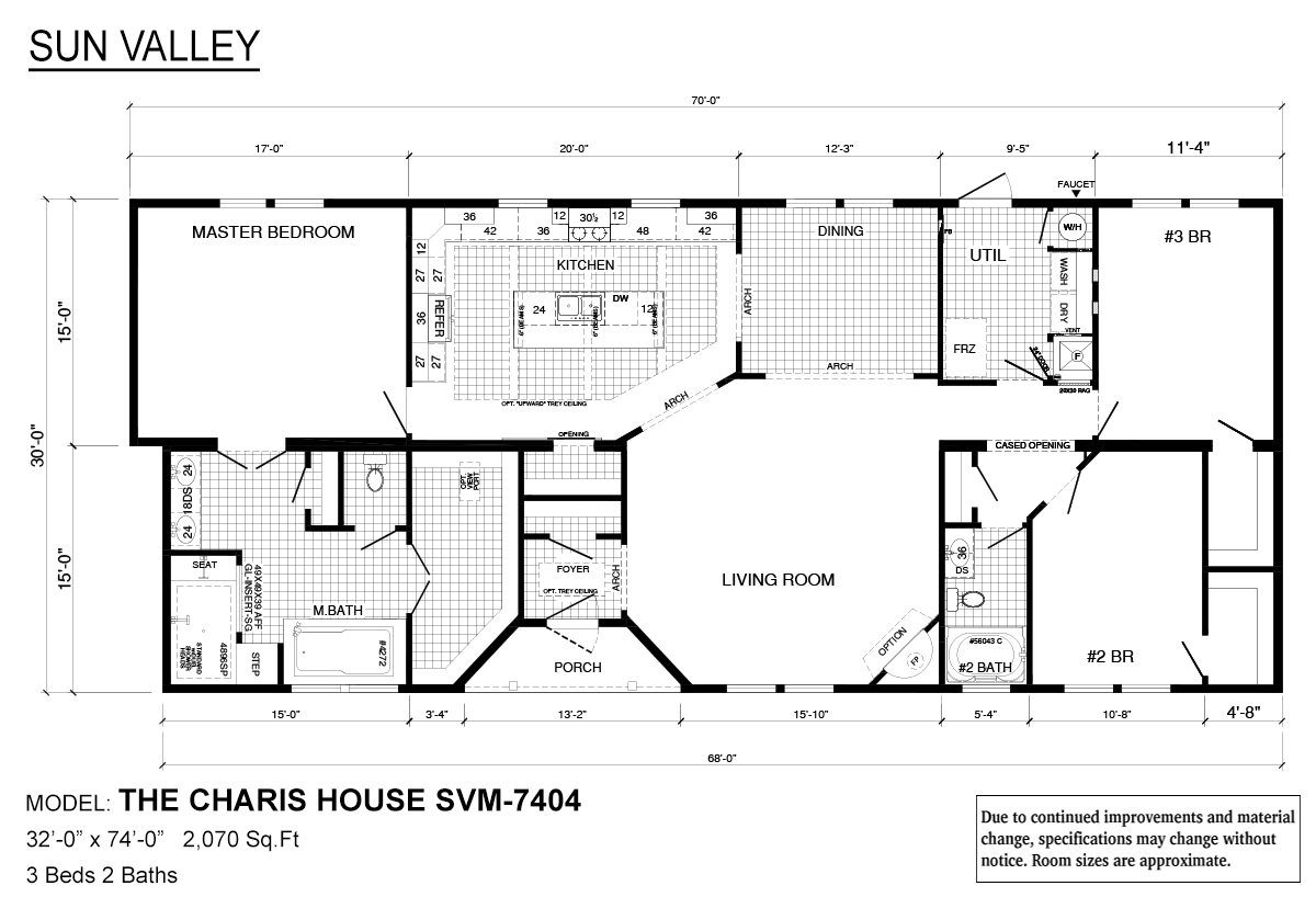 Sun Valley Series - Charis House SVM-7404