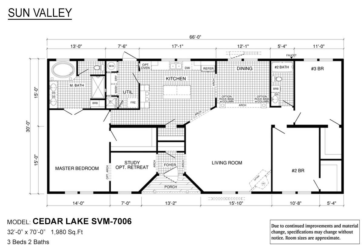 Sun Valley Series Cedar Lake SVM-7006