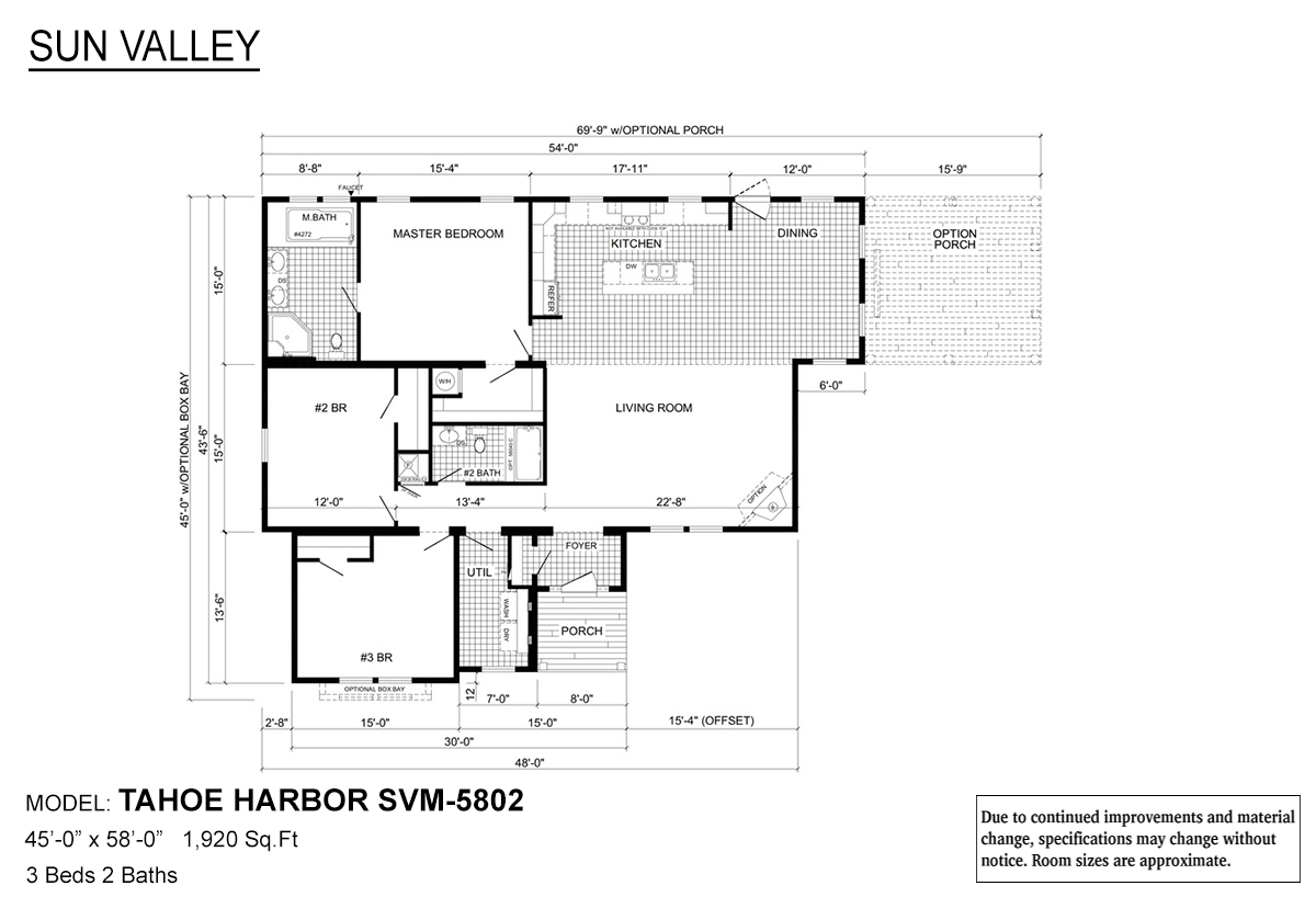 Sun Valley Series Tahoe Harbor SVM-5802