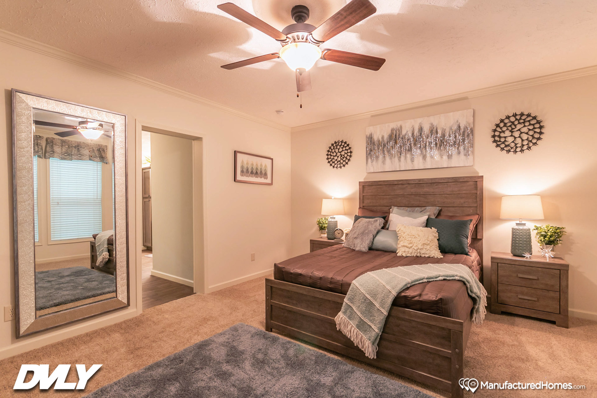Woodland Series / The Zemira WL-6808 - Bedroom