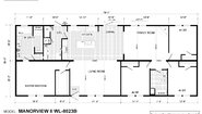 Woodland Series Manorview II WL-8023B Layout