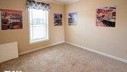 Woodland Series The Adriel WL-7801 Corner ½ Rock Fireplace Bedroom