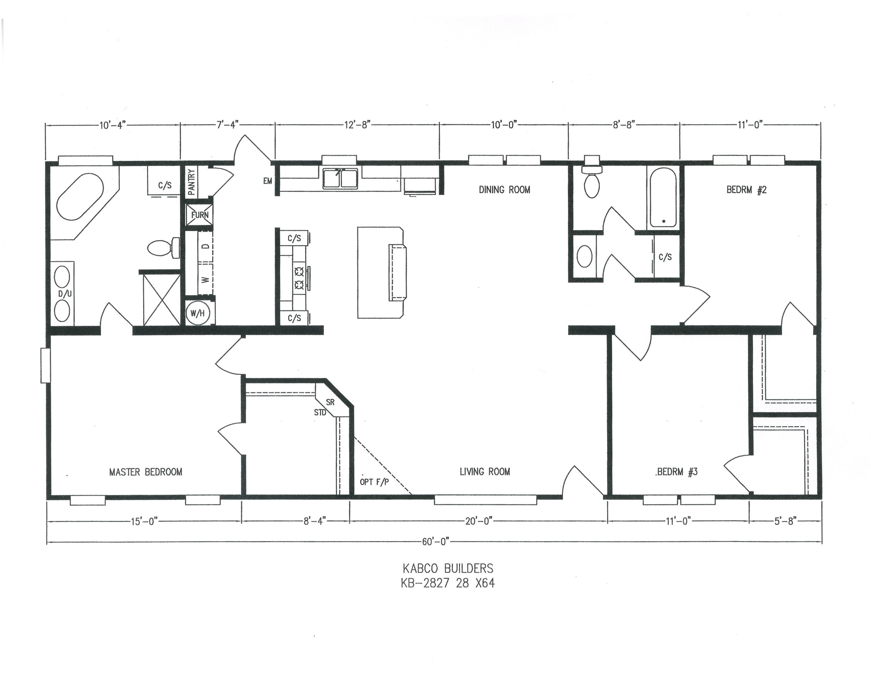 Kb 28 39 Platinum Doubles Kb 2827 By Acadiana Homes