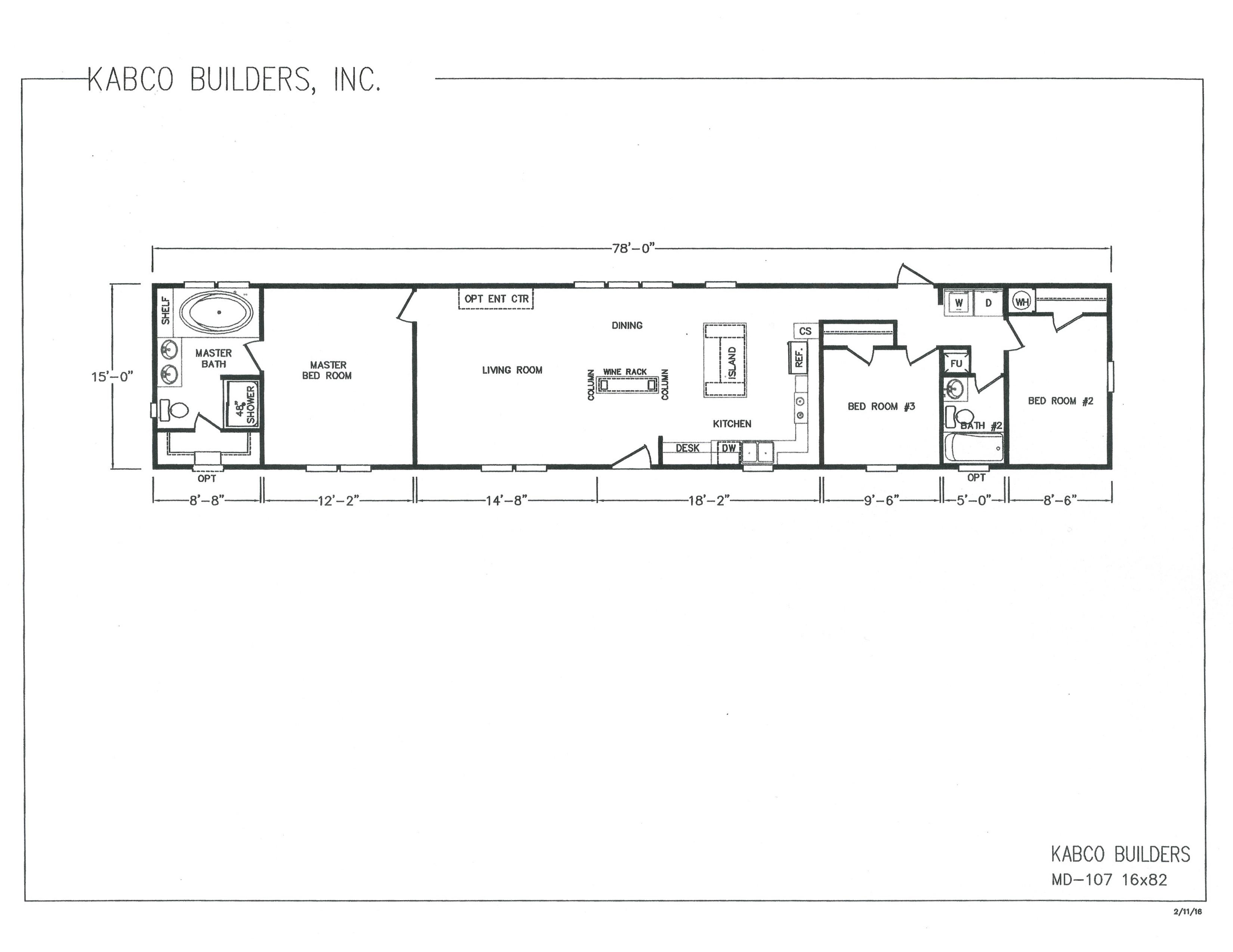 Kabco builders singles wide Yess Home Center of Vidalia
