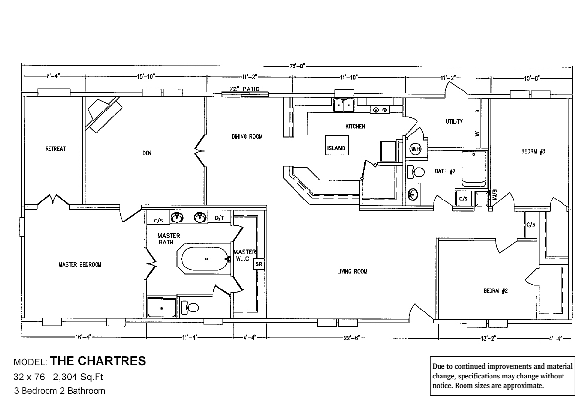 Bolton Homes DW The Chartres Layout