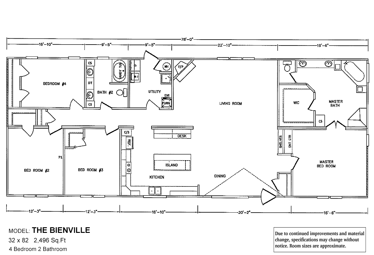 Bolton Homes DW The Bienville