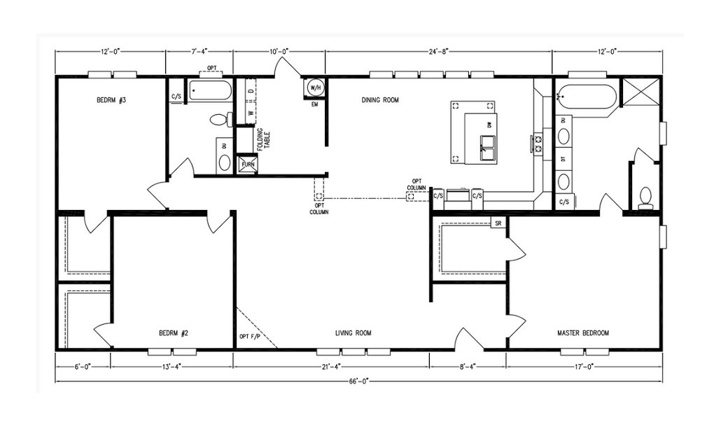 Kb 32 39 platinum doubles kb 3234 by kabco builders inc for Washington home plans