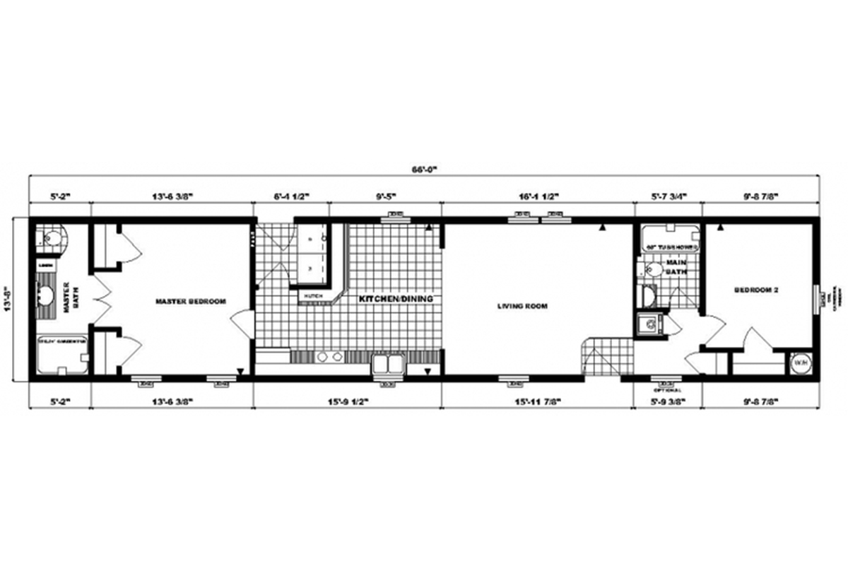 Single-Section Homes - GH-496