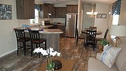 Single-Section Homes HPX-7701 Kitchen