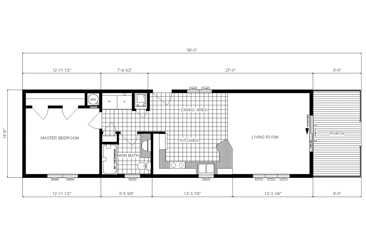 Single-Section Homes - HPX-7701