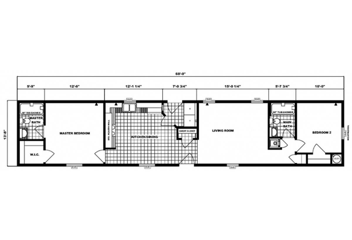 Single-Section Homes - G-602