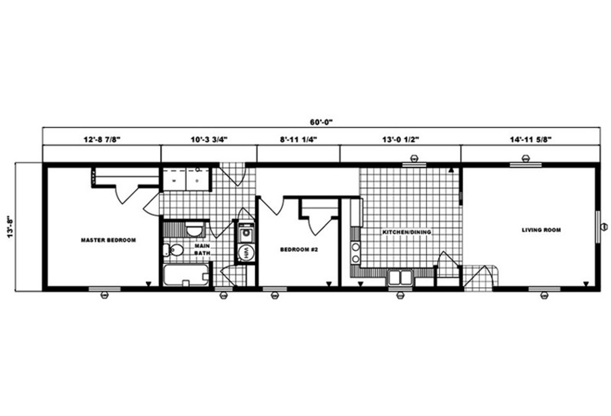 Single-Section Homes - G-492